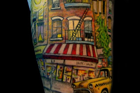 manhattan tattoo shop